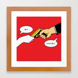 Buy Good Buy Framed Art Print