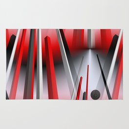 3D - abstraction -74- Rug