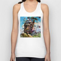 calcifer Tank Tops featuring howl's moving castle by ururuty
