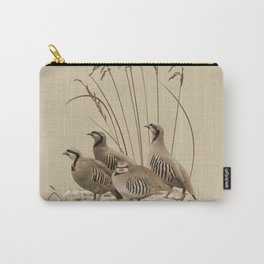 Chukar Partridges Carry-All Pouch