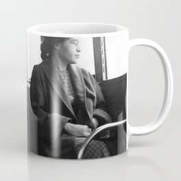 African American Portrait - If Rosa Parks Rode a Bus Today? Coffee Mug