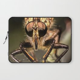 Robber Fly Profile Asildae Close Up Laptop Sleeve