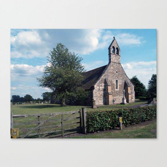 St. Helen, Bilton-in-Ainsty Canvas Print