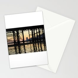 Hastings pier afterglow Stationery Cards