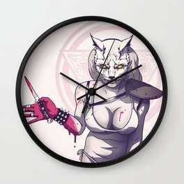 Raccoon Nook Wall Clock