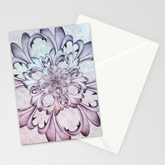 Floral abstract . Stationery Cards