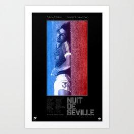 Nuit de Seville Art Print