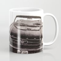 mustang Mugs featuring Mustang by Lindsay Carter