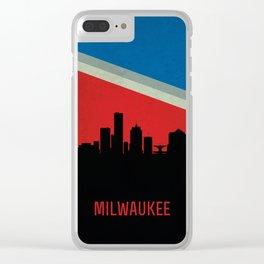 Milwaukee Skyline Clear iPhone Case