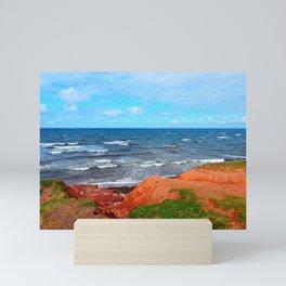 Rolling Waves in East Point PEI Mini Art Print