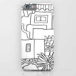 Garden Of Malaga iPhone Case
