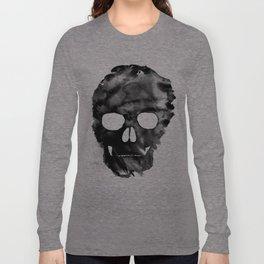 Black skull Long Sleeve T-shirt