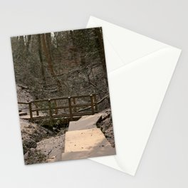 Snowy Ironbridge Gorge Stationery Cards