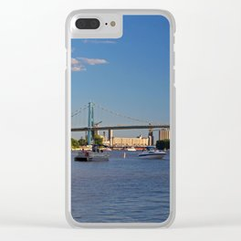 The Anthony Wayne Bridge Clear iPhone Case