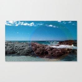a Day at the Beach 1  Canvas Print