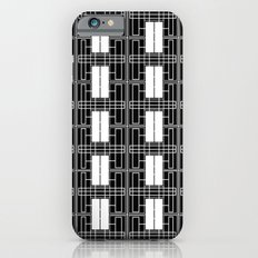 Black and White Brick Slim Case iPhone 6s