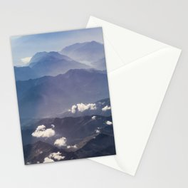 Alps view Stationery Cards