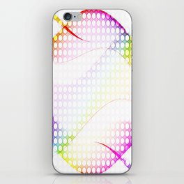 abstract colorful tamplate iPhone Skin
