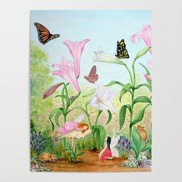 Fairy Garden#1 Poster