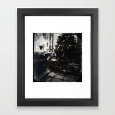 Melancholy Christmas Framed Art Print