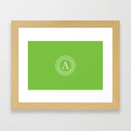 The Circle of A Framed Art Print