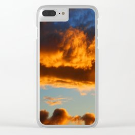 Sunset #195 Clear iPhone Case