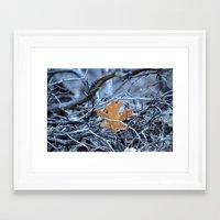 introvert Framed Art Prints featuring introvert by Lisa Carpenter