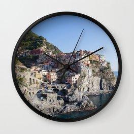 Manarola,Italy Wall Clock