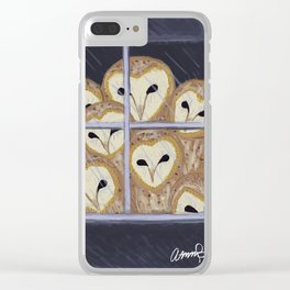 The Owls Are Not What They Seem Clear iPhone Case