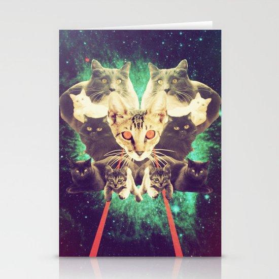 Galactic Cats Saga 1 Stationery Cards