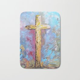 Colors of the Cross Bath Mat