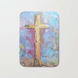 Colors of the Cross Bath Mat