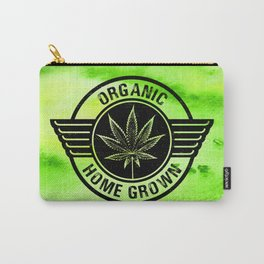 Home Grower Organic on Watercolour Carry-All Pouch