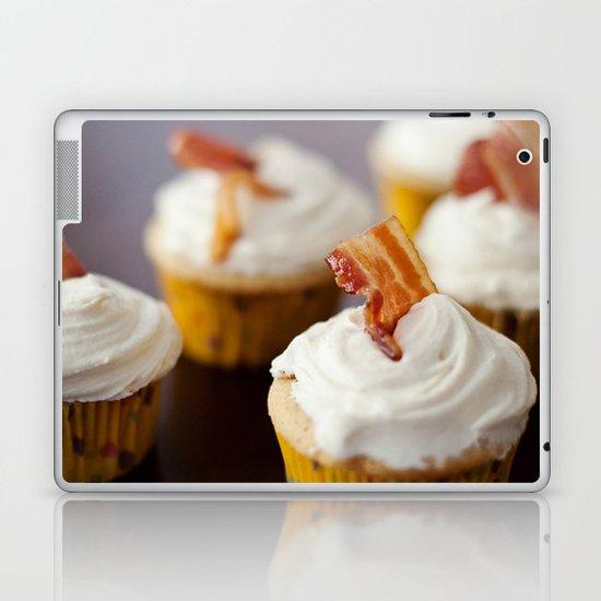 Bacon Maple Cupcake Laptop & iPad Skin