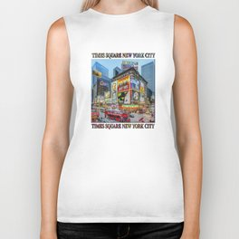 Times Square III Special Edition I Biker Tank