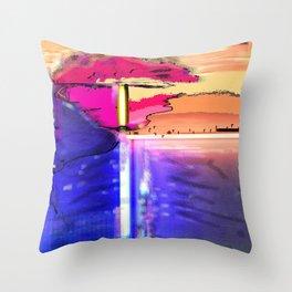 Screening Throw Pillow