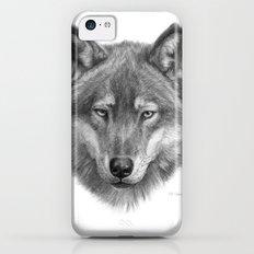 Wolf face G084 Slim Case iPhone 5c
