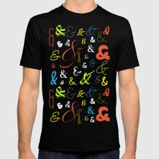 Ampersand Stories 3 Mens Fitted Tee Black MEDIUM