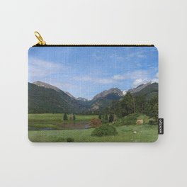 A Meadow In Rocky Mountain NP Carry-All Pouch