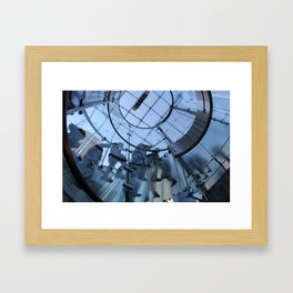 Entrance to The Fourth Dimension II Framed Art Print