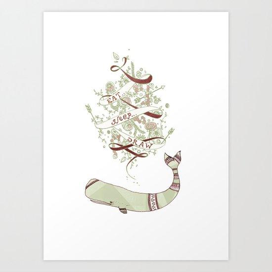 eatsleepdraw Art Print
