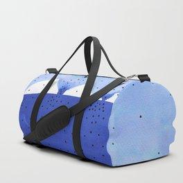 Bright blue series #4 Duffle Bag