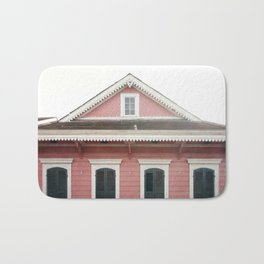 Pink House in Nola Bath Mat