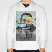 dali Hoodies featuring DALI by Marian - Claudiu Bortan