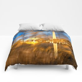 Washington DC Wonderland Comforters