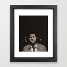 The fear in me Framed Art Print