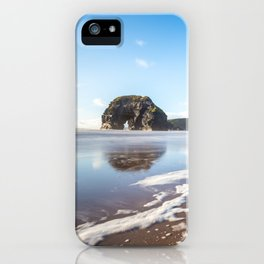 Nun's Beach Reflections iPhone Case