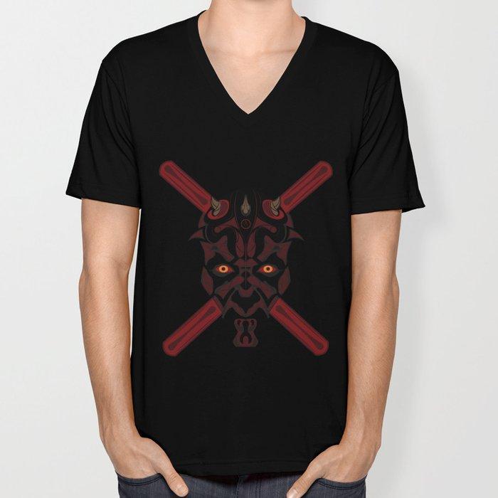A.B.N.Y Tribal Darth Maul Unisex V-Neck