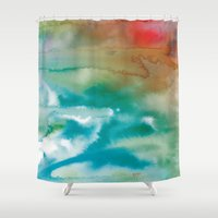 pain Shower Curtains featuring From Pain... by Arte Cluster