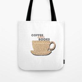 Coffee and books. Tote Bag